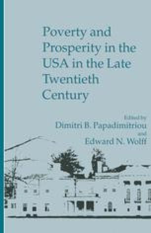 Poverty and Prosperity in the USA in the Late Twentieth Century