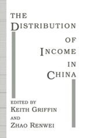 The Distribution of Income in China
