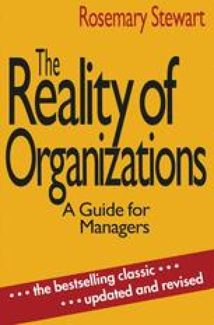 The Reality of Organizations