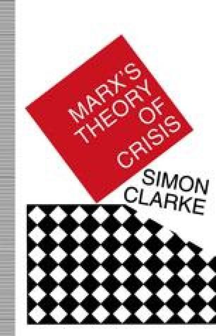 Marx's Theory of Crisis