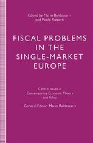 Fiscal Problems in the Single-Market Europe