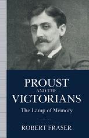 Proust and the Victorians