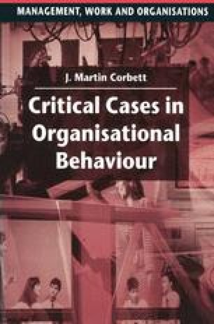 organisational behaviour case study analysis
