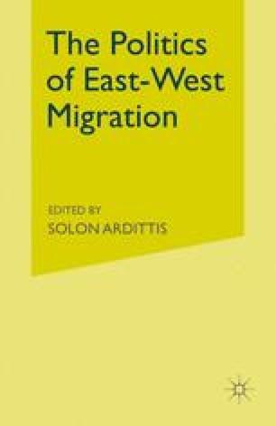 The Politics of East-West Migration