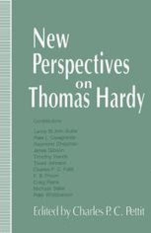New Perspectives on Thomas Hardy