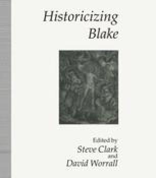 Historicizing Blake