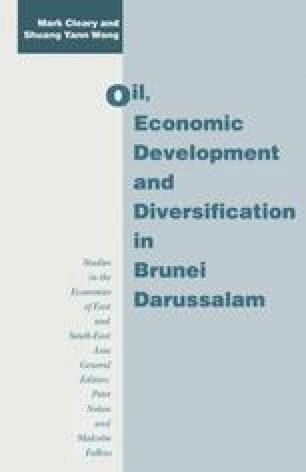 Oil, Economic Development and Diversification in Brunei Darussalam