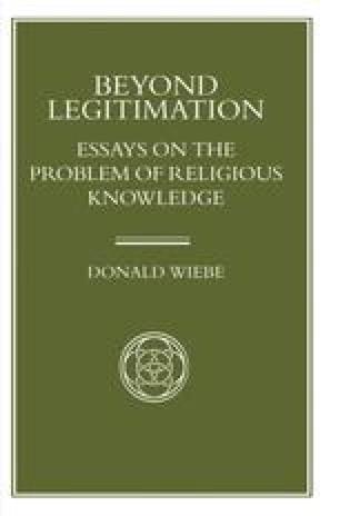 Beyond Legitimation