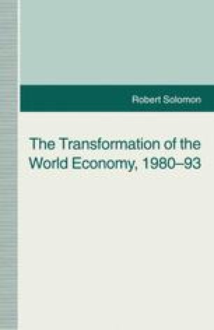 The Transformation of the World Economy, 1980–93