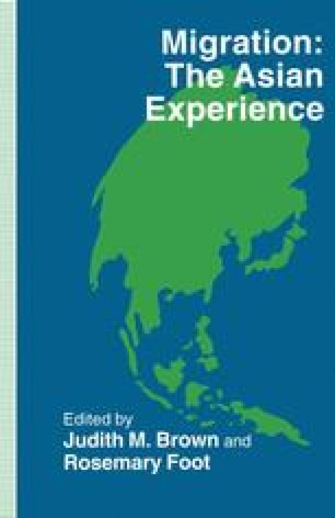Migration: The Asian Experience
