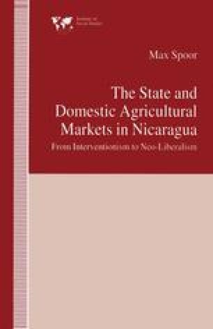 The State and Domestic Agricultural Markets in Nicaragua
