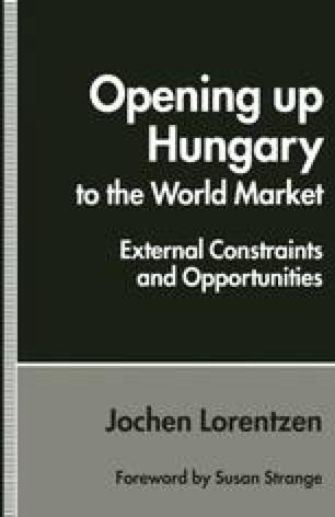 Opening up Hungary to the World Market