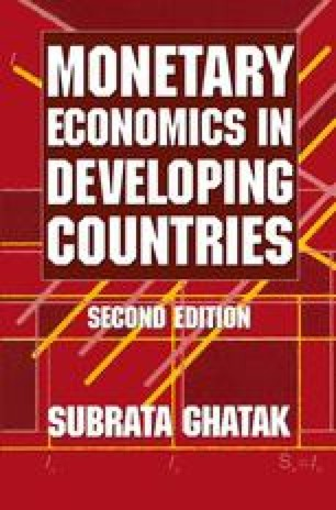 Monetary Economics in Developing Countries