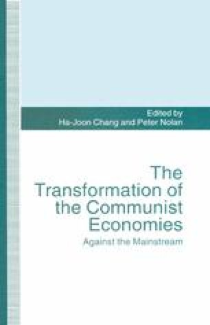 The Transformation of the Communist Economies
