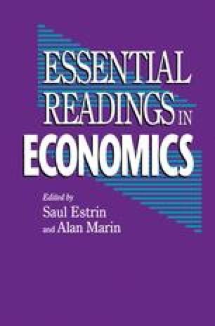 Essential Readings in Economics