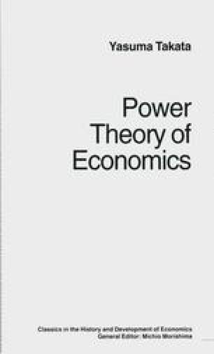 Power Theory of Economics
