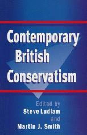 Contemporary British Conservatism