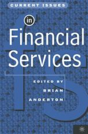 Current Issues in Financial Services