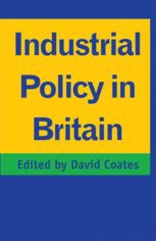 Industrial Policy in Britain