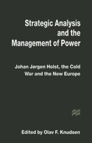 Strategic Analysis and the Management of Power