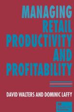 Managing Retail Productivity and Profitability