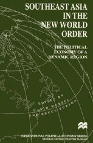 Southeast Asia in the New World Order
