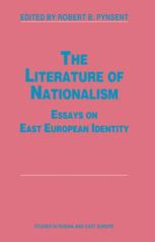The Literature of Nationalism