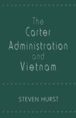 The Carter Administration and Vietnam