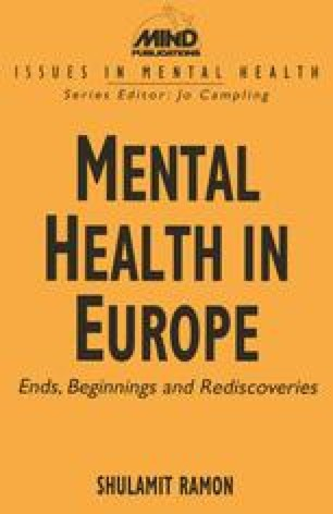 Mental Health in Europe