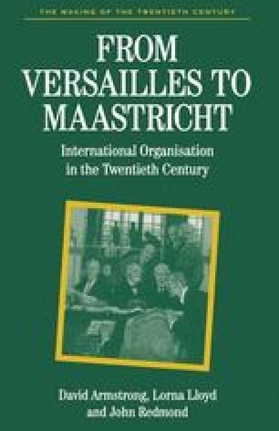 From Versailles to Maastricht
