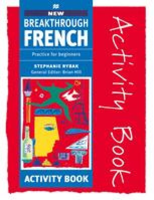 New Breakthrough French Activity Book