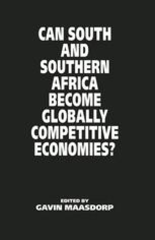 Can South and Southern Africa become Globally Competitive Economies?
