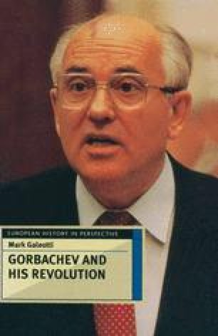 Gorbachev The Technocrat Uskoreniye And The Attempt To Modernize