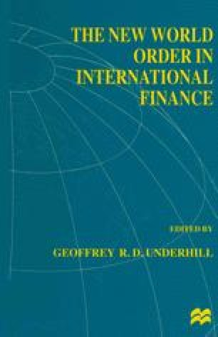 The New World Order in International Finance