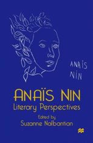 Anaïs Nin Literary Perspectives
