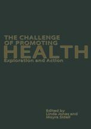 The Challenge of Promoting Health