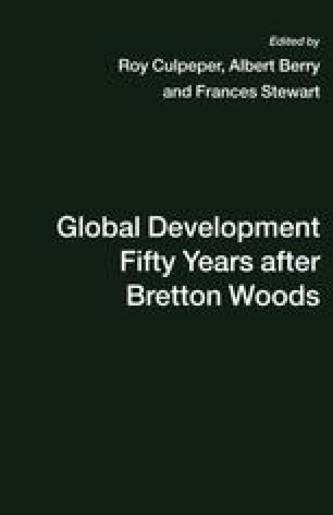 Global Development Fifty Years after Bretton Woods