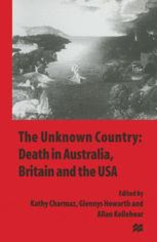 The Unknown Country: Death in Australia, Britain and the USA
