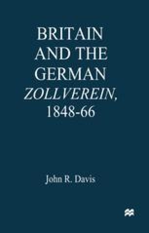 Britain and the German Zollverein, 1848–66