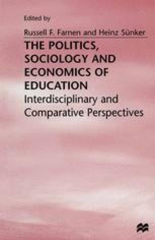 The Politics, Sociology and Economics of Education