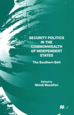Security Politics in the Commonwealth of Independent States