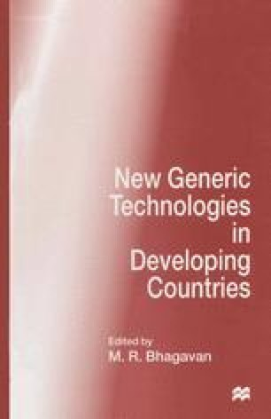 New Generic Technologies in Developing Countries