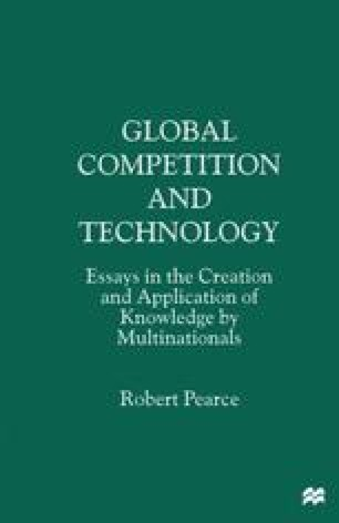 Global Competition and Technology