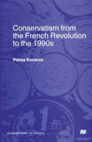 Conservatism from the French Revolution to the 1990s