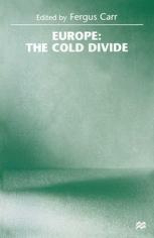 Europe: the Cold Divide