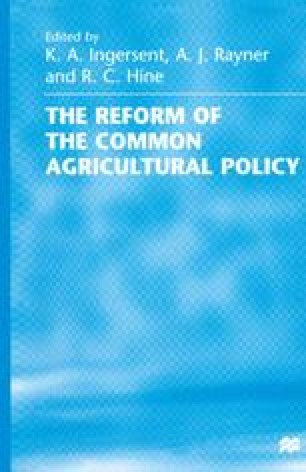 The Reform of the Common Agricultural Policy