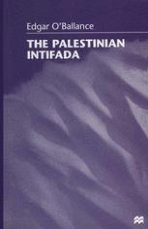 The Palestinian Intifada