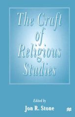 The Craft of Religious Studies