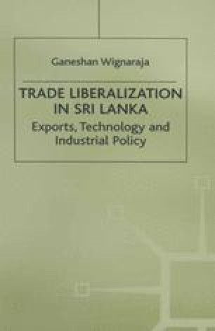 Trade Liberalization in Sri Lanka
