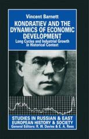 Kondratiev and the Dynamics of Economic Development
